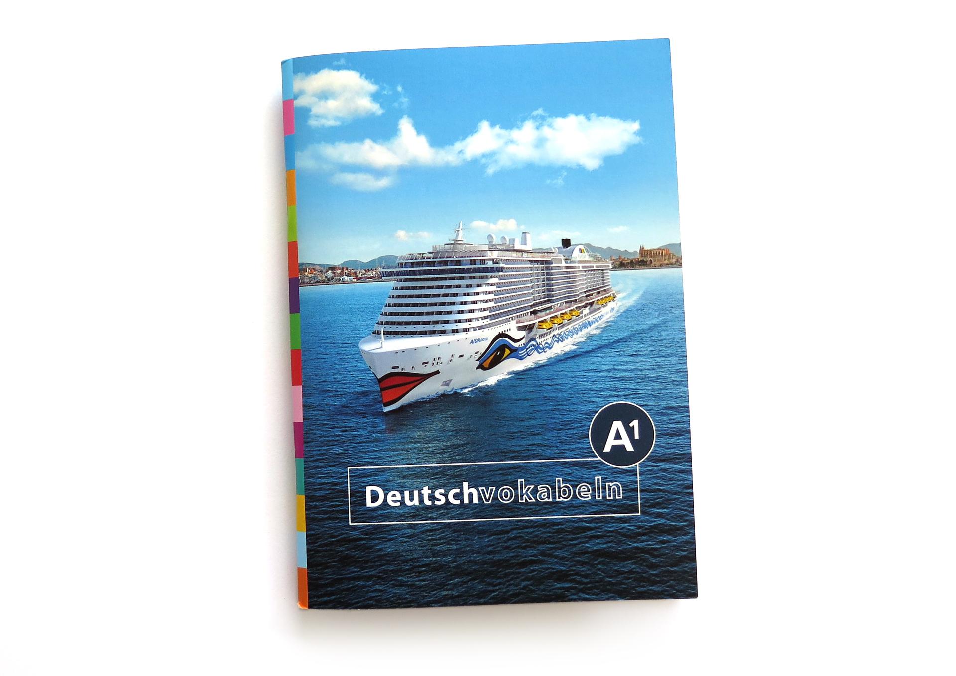 Illustrationen und Gestaltung für das Lehrbuch Deutschvokabeln für inlingua Rostock und AIDA