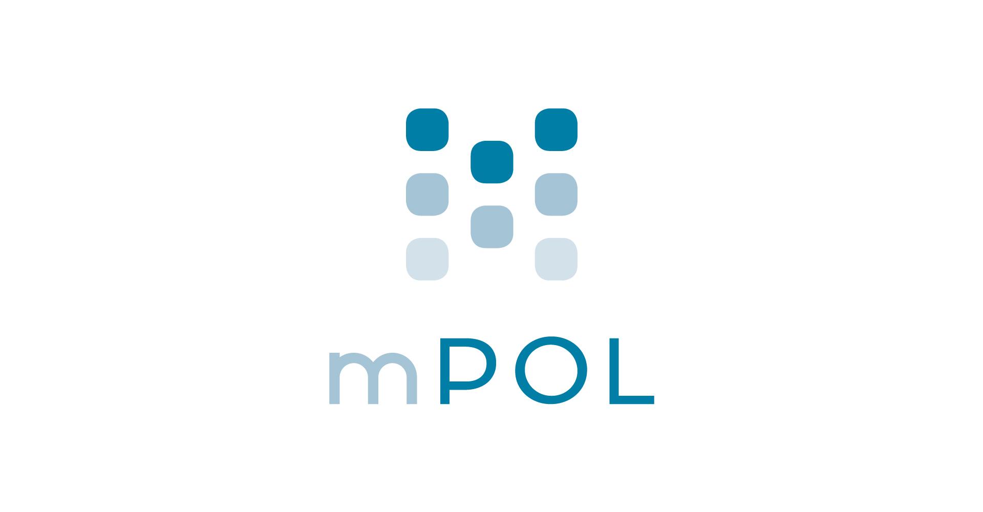 mPOL Logo-Design für mobiles Werkzeug für die Polizei des Landes Mecklenburg-Vorpommern im Streifendienst