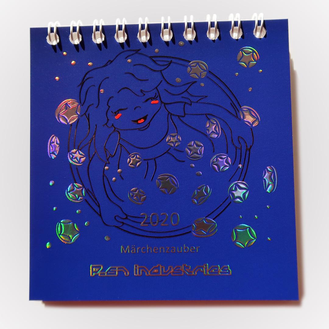 P-67 Bildkalender 2020 Märchenzauber Titelbild mit Sternentaler