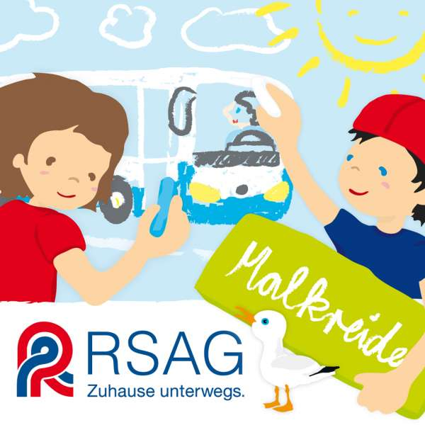 Steffi Meyer von P-67 Industries – Illustration für die RSAG Give-Aways für Kinder