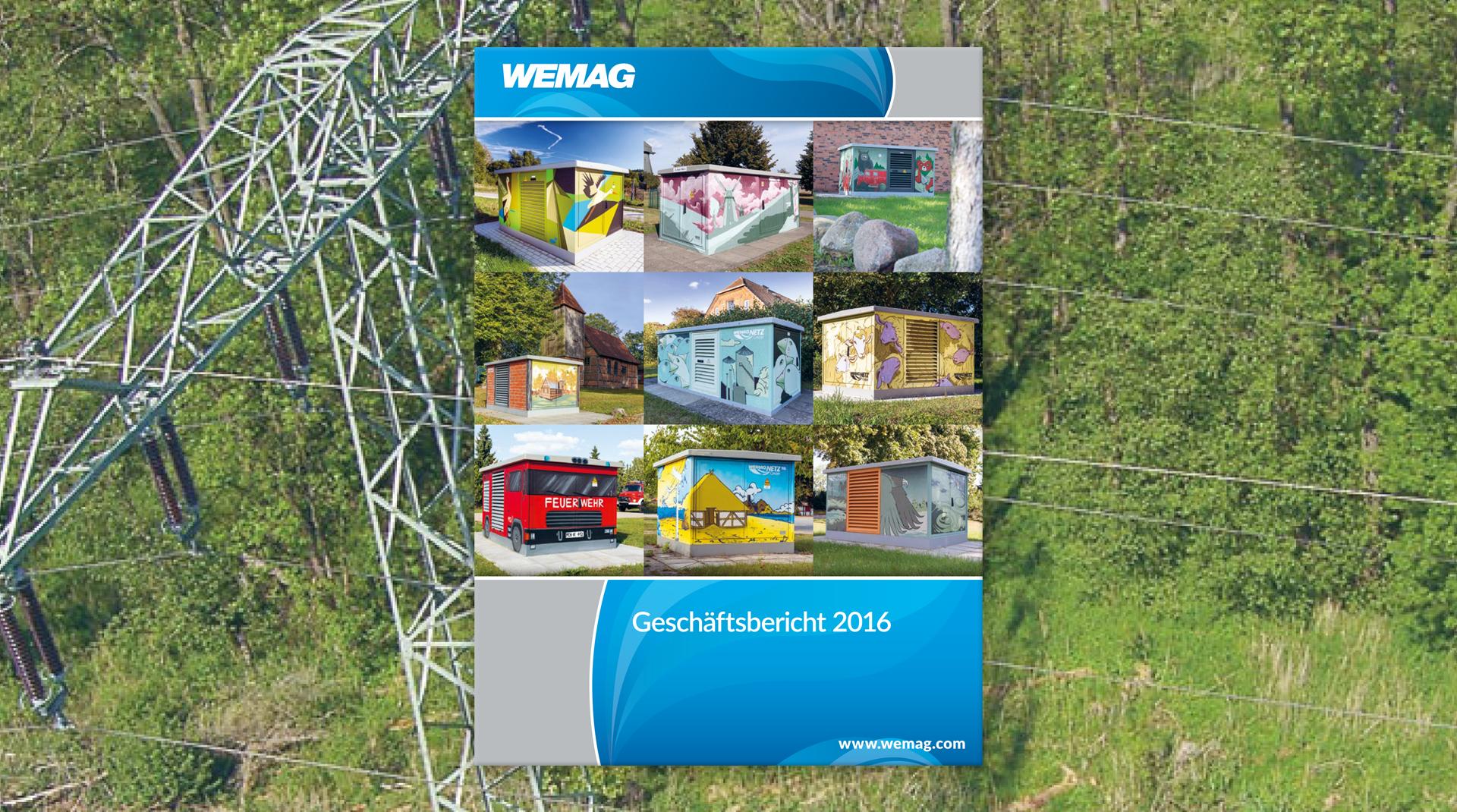 Titel des WEMAG AG Geschäftsberichts 2016
